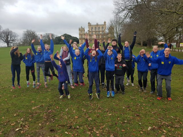 Saucony English National Cross Country at Wollaton Park